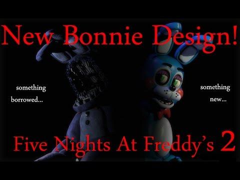 New Bonnie Design!-Five Nights At Freddy's 2:The Sequel New Leak!