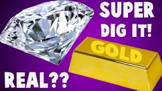HUGE Gold and Diamond Dig It! Did I Find a REAL Diamond or Gold?