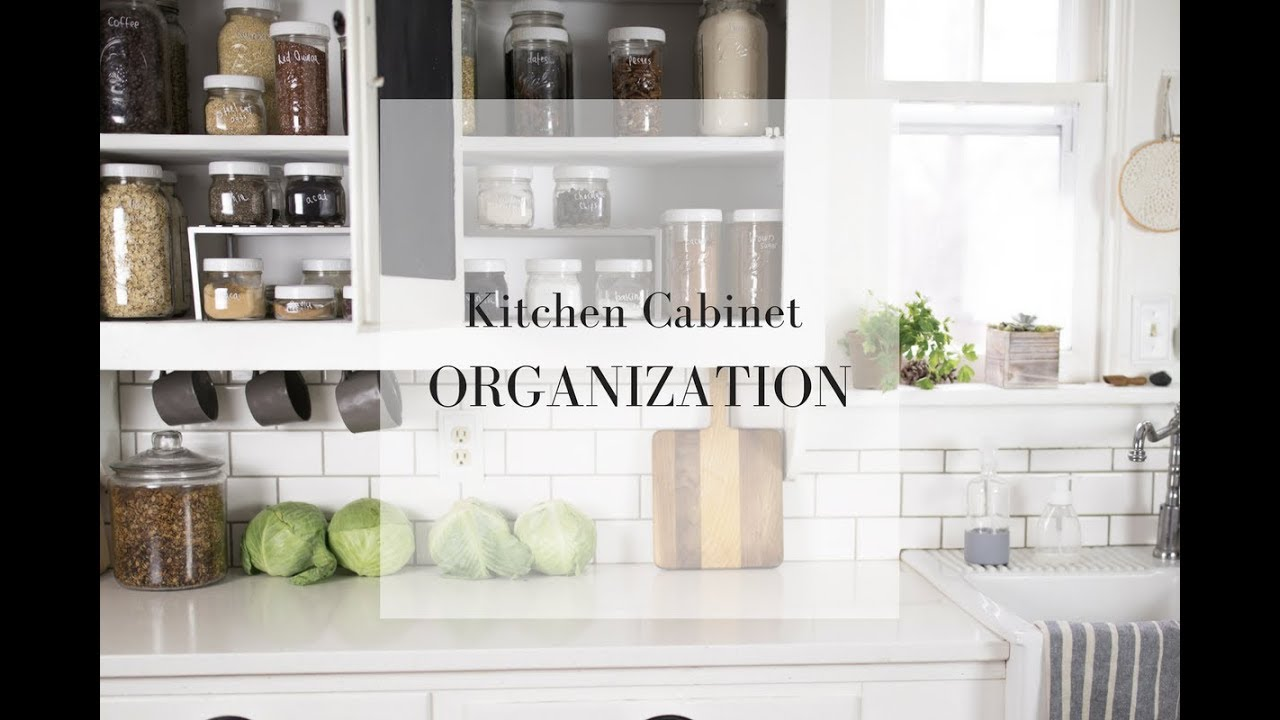 Pantry Organization with Mason Jars| FARMHOUSE KITCHEN - YouTube