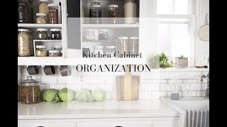 Pantry Organization with Mason Jars| FARMHOUSE KITCHEN