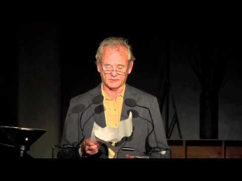 Bill Murray Reads Wallace Stevens