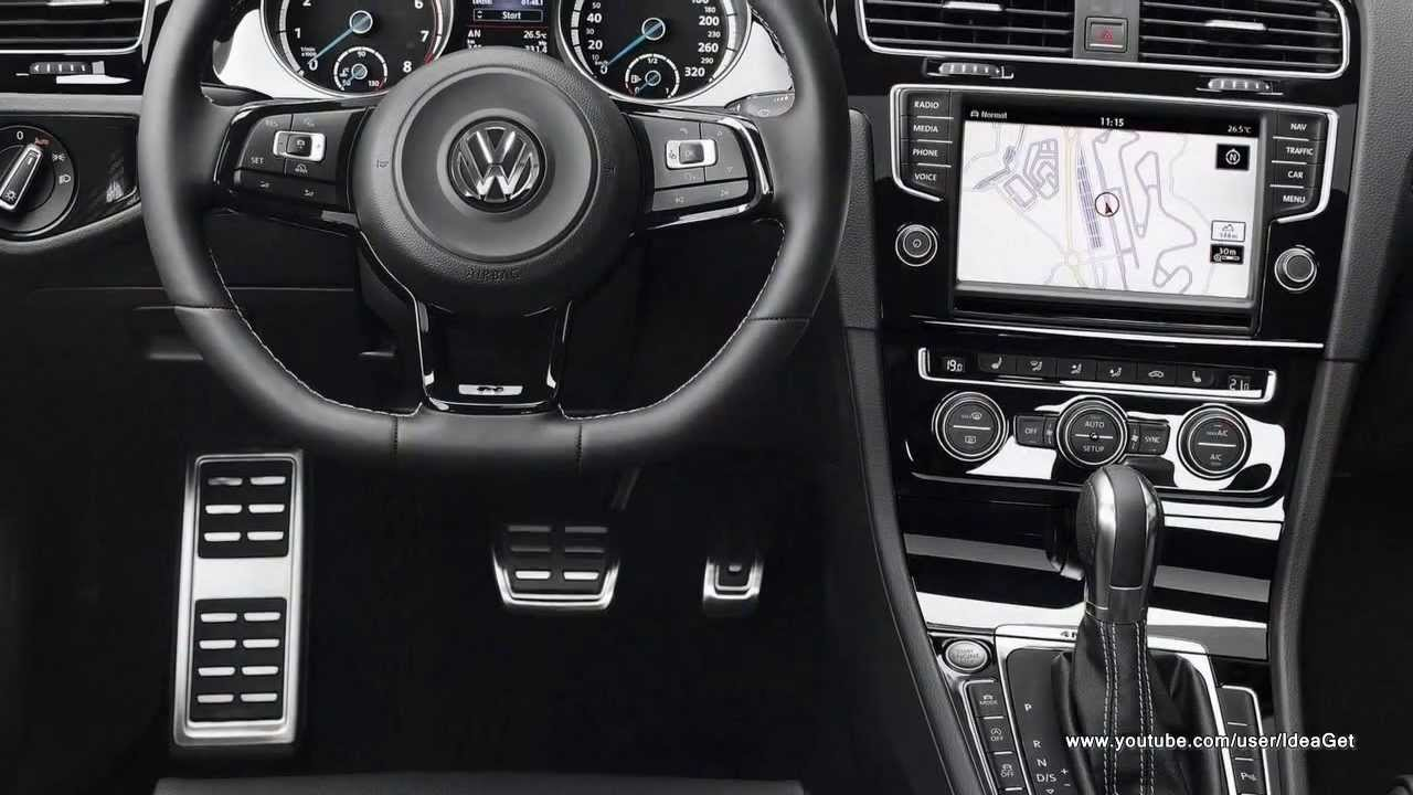 2014 volkswagen golf r interior and exterior design youtube. Black Bedroom Furniture Sets. Home Design Ideas