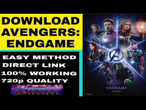 Download How to download Avengers: Endgame Full Movie | 100% Working |