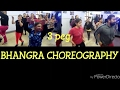 3 peg || sharry maan || bhangra || choreography || anew Fitness center and dance academy