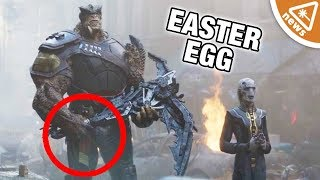 Is There Another Captain Marvel Easter Egg in Infinity War? (Nerdist News w/ Jessica Chobot)