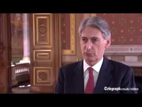 Philip Hammond: British aid drops expected