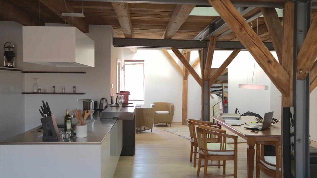 The Loft  Traumhafte Maisonetten Wohnung in Frth  YouTube