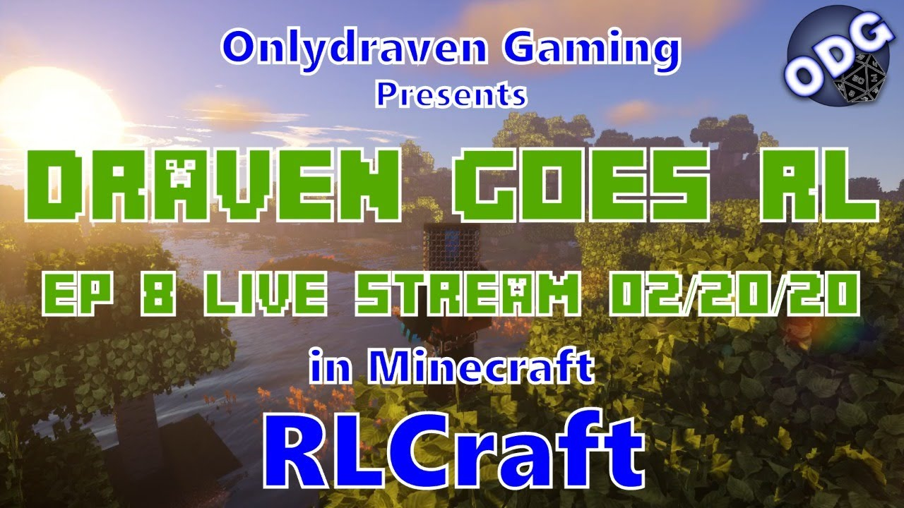 Draven Goes Rl Minecraft Rlcraft Episode 8 Fights The Cyclops