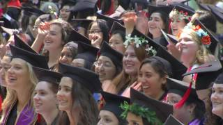 Wellesley College Commencement 2016 ( Full-Length)