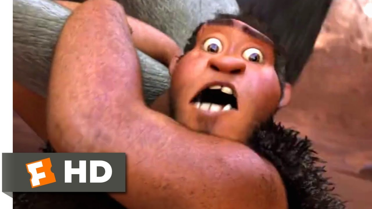 Download The Croods (2013) - Hunting For Breakfast Scene (1/10) | Movieclips