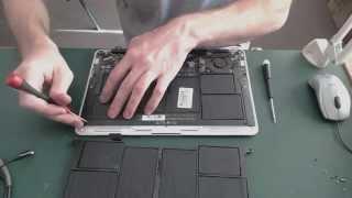 Замена аккумулятора на MacBook Air 11 дюймов(, 2014-10-13T10:00:07.000Z)