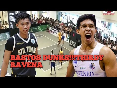 THIRDY RAVEN GONE WILD!!ATENEO VS UST 3X3 FINALS (THIRDY RAVEN VS. RHENZ ABANDO DUEL)