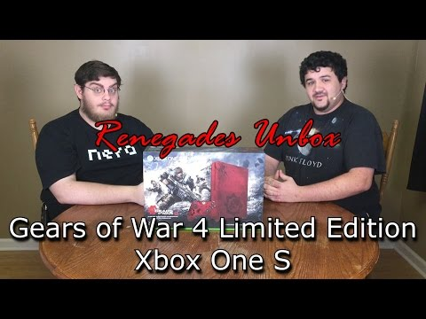 Renegades Unbox - Gears of War 4 Limited Edition Xbox One S