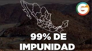 México el país con mayor impunidad en América Latina