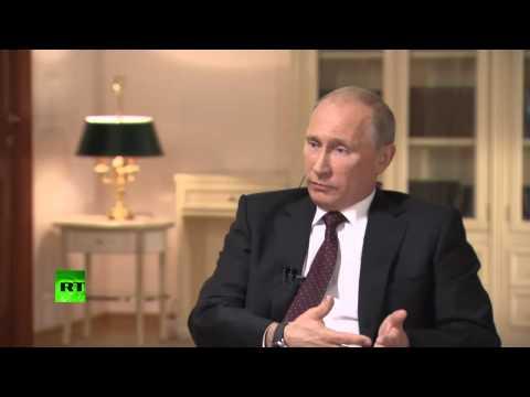 Путин о Pussy Riot