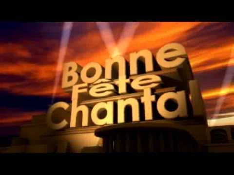 Carte Bonne Fete Chantal.Bonne Fete Chantal