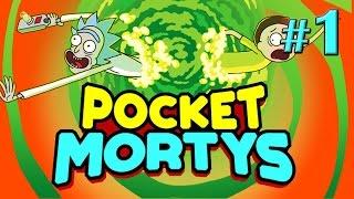 Первый взгляд на ПокеМортов - Pocket Mortys - #1