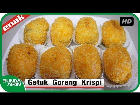 Cara Membuat Getuk Goreng Krispi Resep Jajanan Indonesia Recipes Cooking Bunda Airin