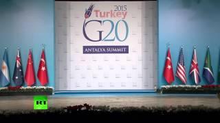 Турецкие коты прошли по следам мировых лидеров на саммите G20