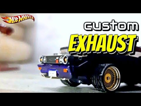 DIY: SIMPLY EXHAUST FOR HOT WHEELS
