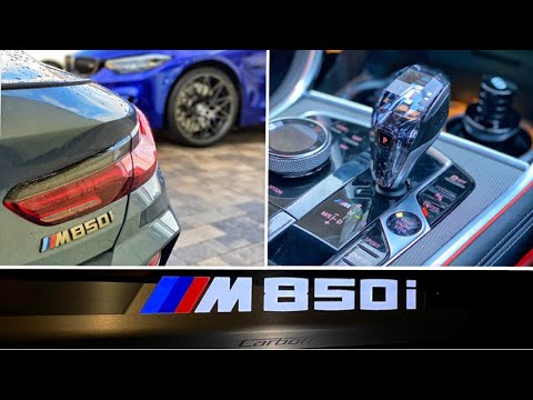 BMW M850i Start-up