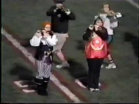 2003 Constantine High School Marching Band Halloween Halftime Show