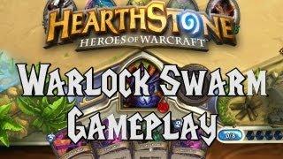 Warlock Low Mana Swarm - Paces (Hearthstone Gameplay)