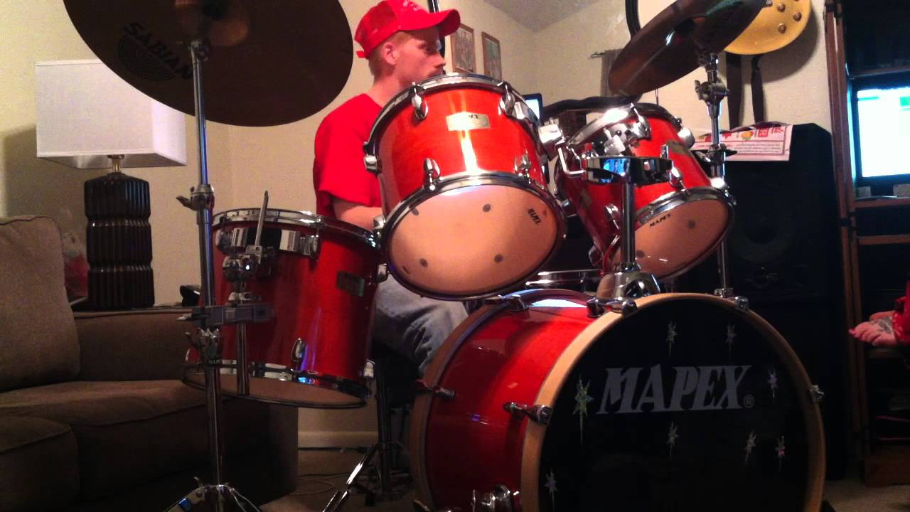 Hinder lips of an angel drum cover