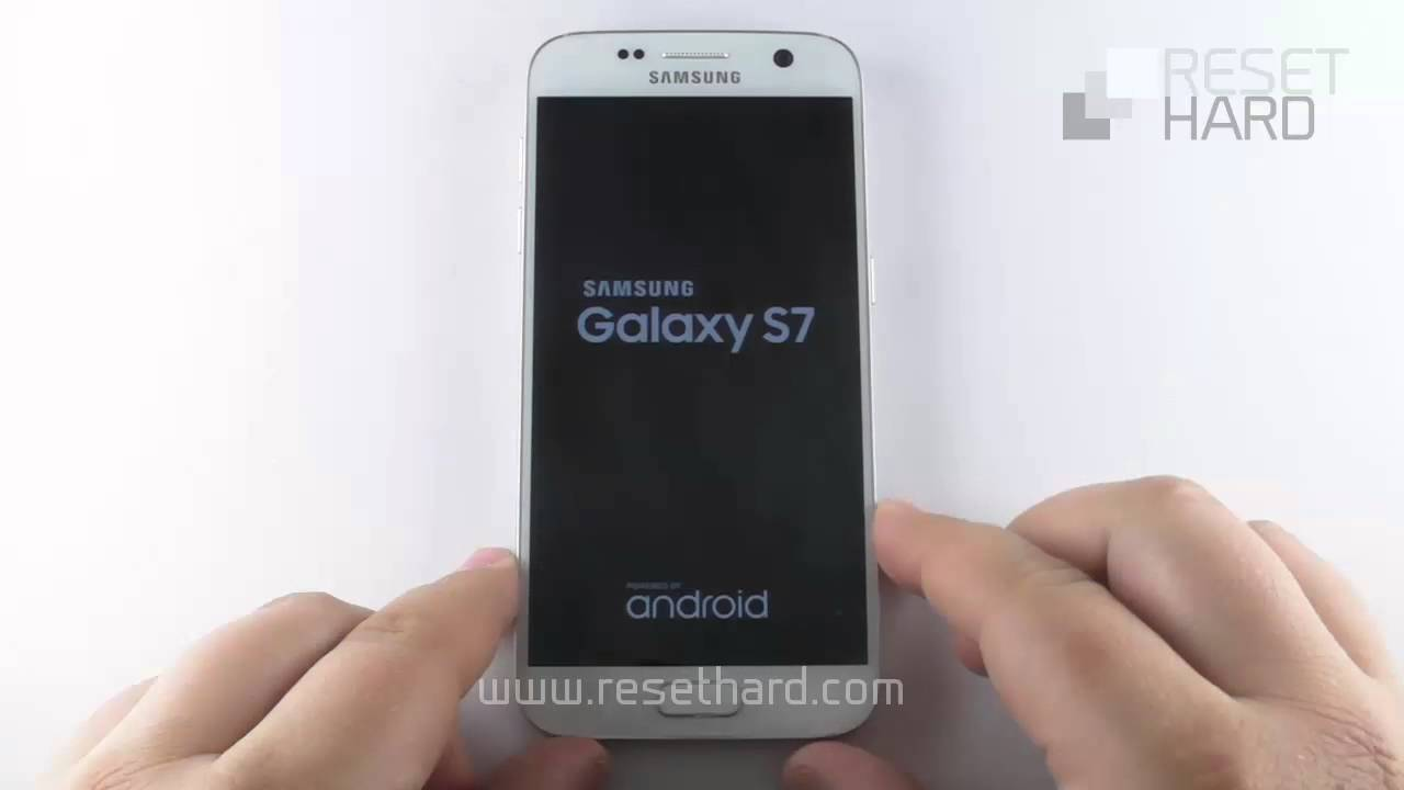 How To Hard Reset Samsung Galaxy S7