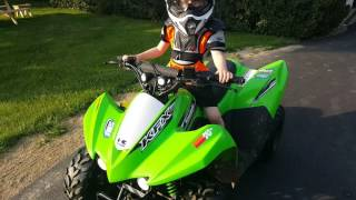 2016 Kawasaki KFX 50 Youth ATV