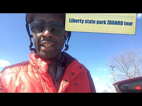 Liberty state park ZBOARD TOUR- HERVE's WORLD - episode 45