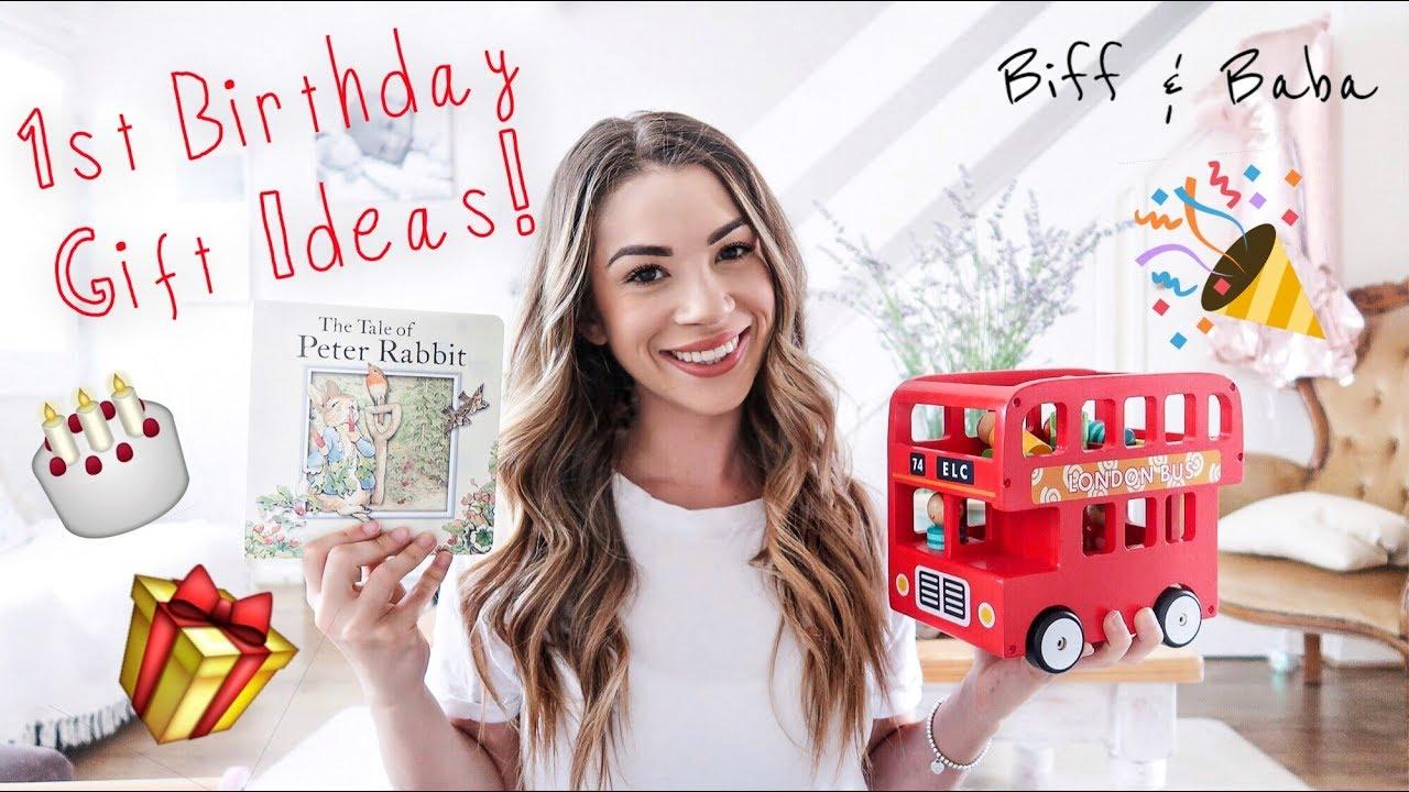 Maddie S Birthday Presents Baby Girl 1st Birthday Gift Ideas Biff Baba