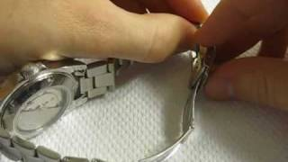 How to Micro Adjust Watch Bracelet