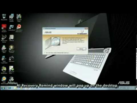 Asus U36SD Notebook AI Recovery Windows 8 X64