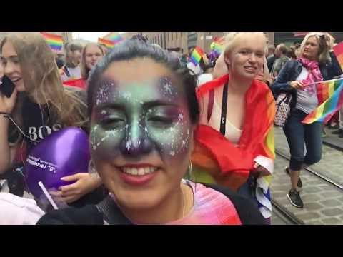 Helsinki Pride Parade 2018   Travel Diaries