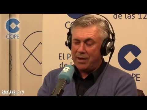 Entrevista a Carlo Ancelotti 'El Partido de las 12'