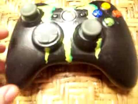 How to Paint an Xbox 360 Controller with NO DISASSEMBLY!