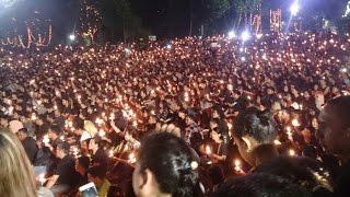 Bikin Haru! Ini Aksi 1000 Lilin Buat Ahok di 33 Kota di Indonesia & 19 Negara di Dunia