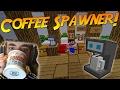 COFFEE SPAWNER! | Minecraft Mod Showcase!
