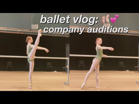 BALLET COMPANY AUDITIONS VLOG!