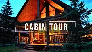 Gambar cover OFFGRID Cozy Cabin Tour | Stunning Nature | Weekend Getaway | AirBnb in Canada Pt.1