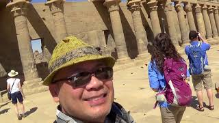 Exploring Temple of Philae in Aswan Egypt (03/2018)