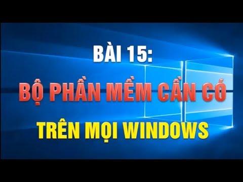 Phần Mềm | Cách Tải Và Cài đặt Phần Mềm Máy Tính Cho Windows Chi Tiết Toàn Tập