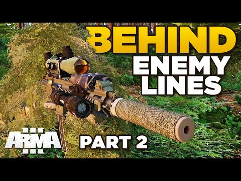 BEHIND ENEMY LINES | Exfil [Part 2] – ARMA 3 ZEUS