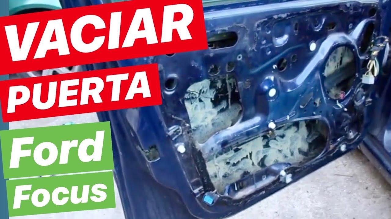 DESPIECE DIY - VACIAR PUERTA del piloto FORD FOCUS 1 - Cómo Quitar ...