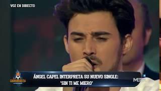 Ángel Capel interpreta en directo 'Sin ti me muero'