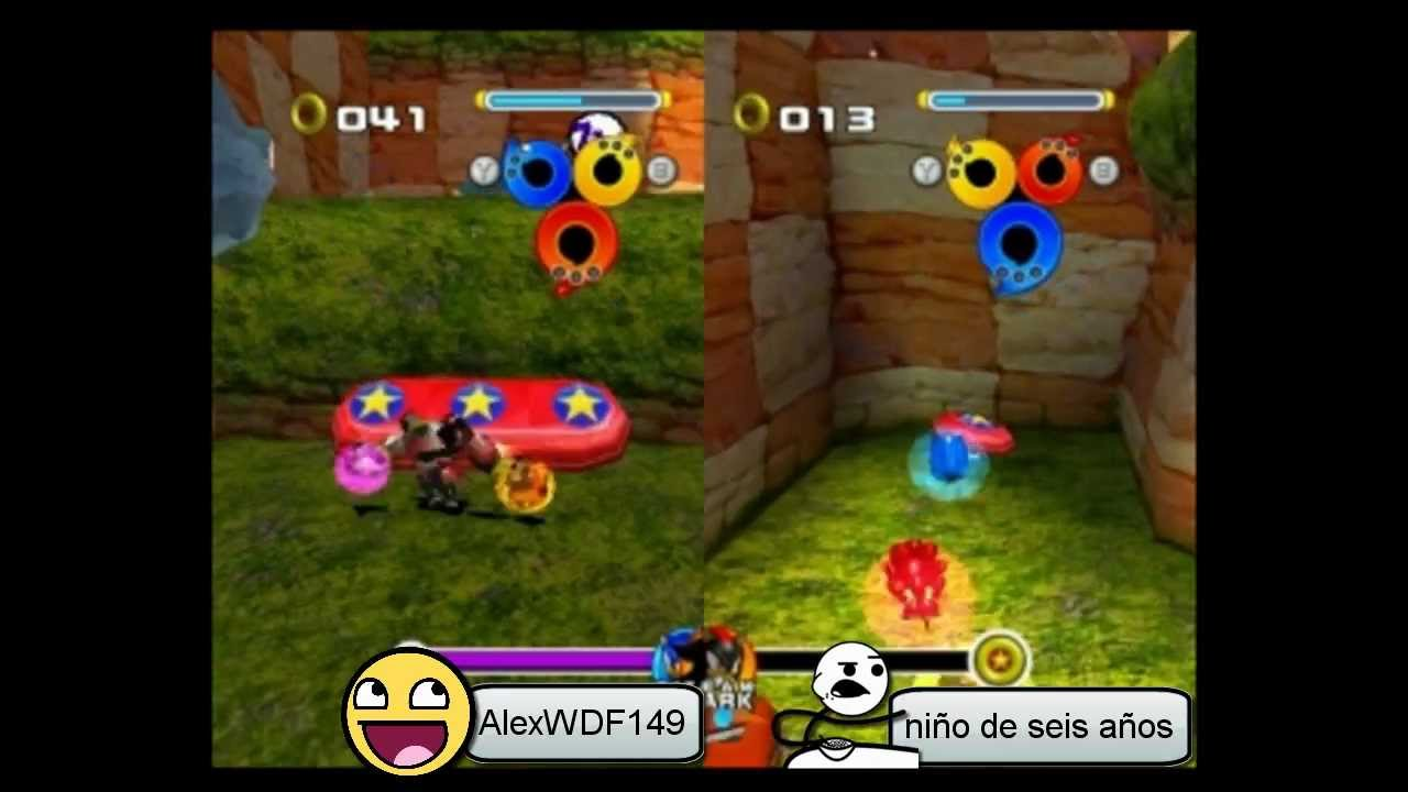 Como Jugar De 2 Jugadores En Sonic Heroes Youtube