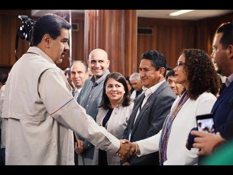 Maduro en el Encuentro Latinoamericano de Gobiernos Locales, 7 junio 2019