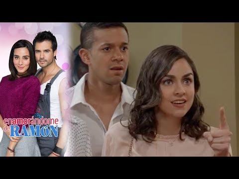 Andrea descubre que Julio la estafo | Enamorándome de Ramón - Televisa