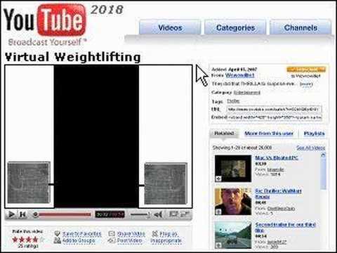 youtube 2018 virtual weightlifting youtube